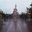 Sleeping Beauty Castle- Alone by Margybear