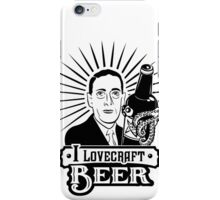 I Lovecraft Beer iPhone Case/Skin