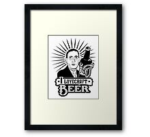 I Lovecraft Beer Framed Print