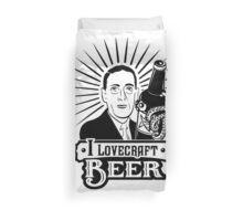 I Lovecraft Beer Duvet Cover