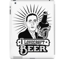 I Lovecraft Beer iPad Case/Skin