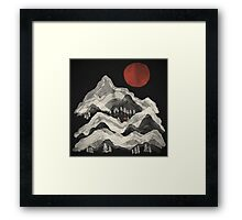Moon Lake... Framed Print