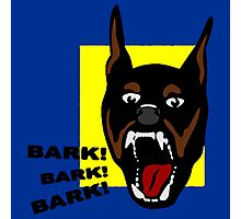 Bark ! Bark ! Bark ! Photographic Print