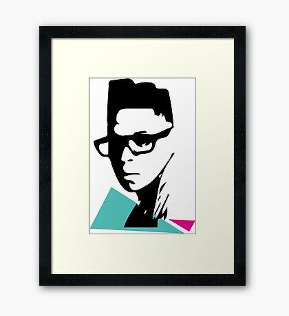 Cool kid Framed Print