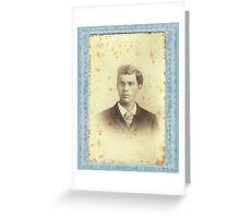 MATTHEW GROGAN Greeting Card