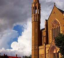 Sacred Heart Cathedral by Skye Milburn