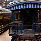 Blu Train - Perris Rail Museum by Larry3