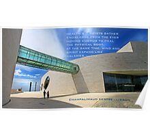 Champalimaud Foundation. Lisbon Poster