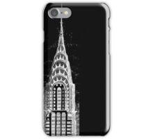 Chrysler Building Sketch iPhone Case/Skin