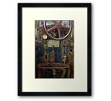 Old Baffalo In Rust Framed Print