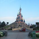 Sleeping Beauty Castle by Margybear