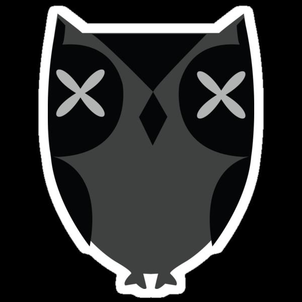 Black owl by hibrida13