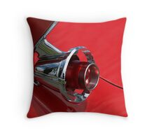 Flash of Red Throw Pillow