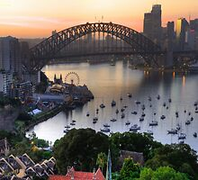 A City In Focus - Sydney Harbour - Moods Of A City -The HDR Experience by Philip Johnson