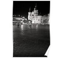 old town square, prague Poster