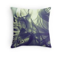 Lights & Feathers Throw Pillow