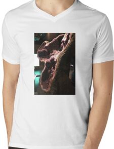 Geode Side View Mens V-Neck T-Shirt