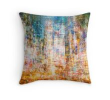 Average Time Square Throw Pillow