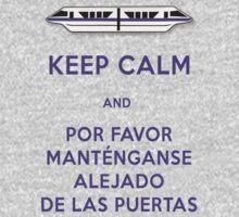 Monorail- Keep Calm (Purple) Kids Clothes