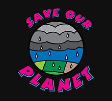 Save our Planet! Womens Fitted T-Shirt