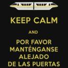 Monorail- Keep Calm (Gold) by Margybear