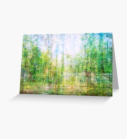 Average Forest  Greeting Card