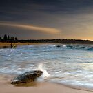 Last Summer Splash - South Curl Curl, NSW by Malcolm Katon