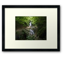 Glenoe waterfall, County Antrim, Northern Ireland Framed Print