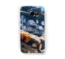 Reef Fish on a Shipwreck, Bahamas Sea Samsung Galaxy Case/Skin