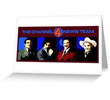 The Channel 4 News Team Greeting Card