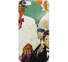 A Play in Three Acts iPhone Case/Skin