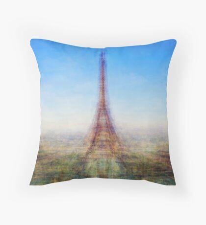 Average Eiffel Tower Throw Pillow