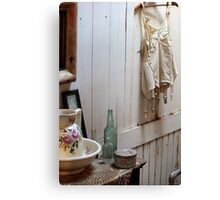 Bath House Memories - Lake Elsinore Canvas Print