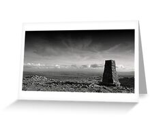 'Hill of the Winds' Greeting Card