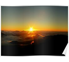 Sunrise At Haleakala Poster