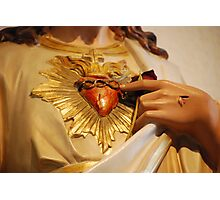 His Most Sacred Heart... Photographic Print