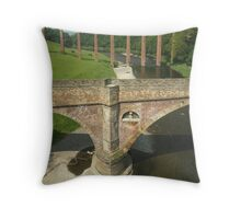 Tweed Bridges Throw Pillow