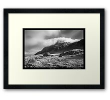 'Cloud over Tryfan' Framed Print