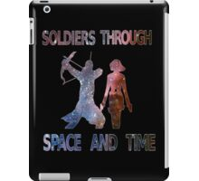 Soldiers through space and time iPad Case/Skin