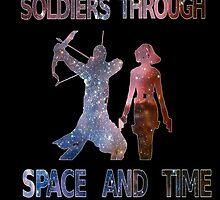 Soldiers through space and time by isilygoodart