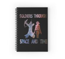 Soldiers through space and time Spiral Notebook