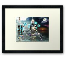 FUSING WITH DREAMLAND Framed Print