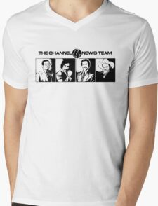 The Channel 4 News Team Mens V-Neck T-Shirt