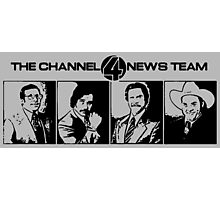 The Channel 4 News Team Photographic Print