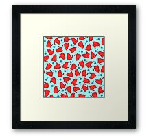 Red Cats and Balls of String Framed Print