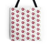 Watercolor cherry pattern Tote Bag