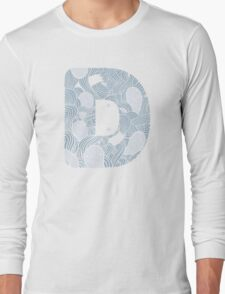 D for doodle Long Sleeve T-Shirt