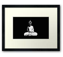 The Skull Mantra Framed Print
