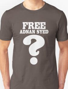 Serial podcast free adnan syed geek funny nerd T-Shirt