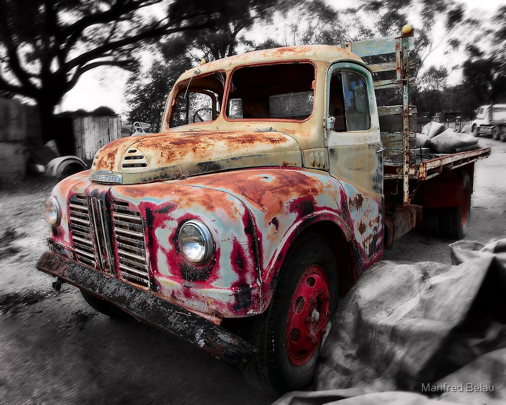 Austin Truck by Manfred Belau